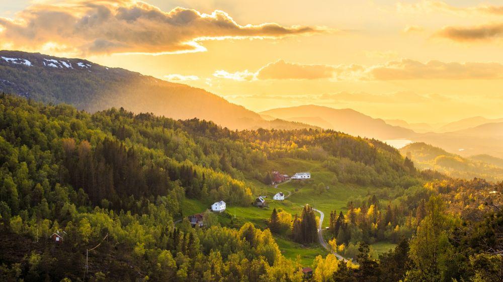 اینجا نروژ است، بهشت روی زمین
