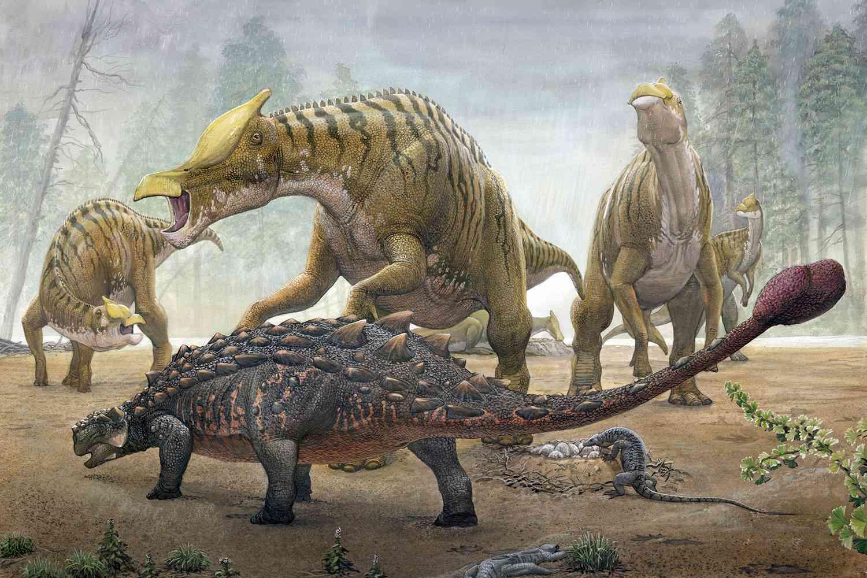 آیا دایناسورها در گرم شدن زمین تأثیرگذار بودهاند؟