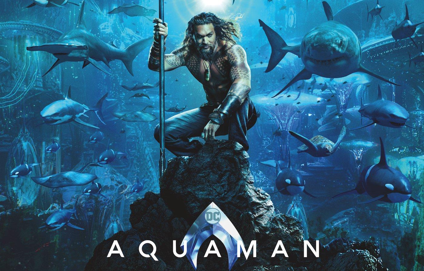 قبضه گیشههای سینما با محافظ آتلانتیس؛ Aquaman