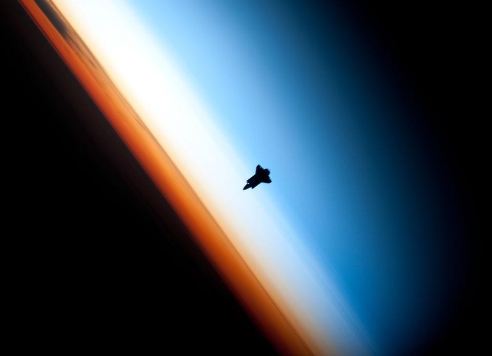 چشمانداز پرتاب موشک از نگاه ساکنان ایستگاه بین المللی فضایی