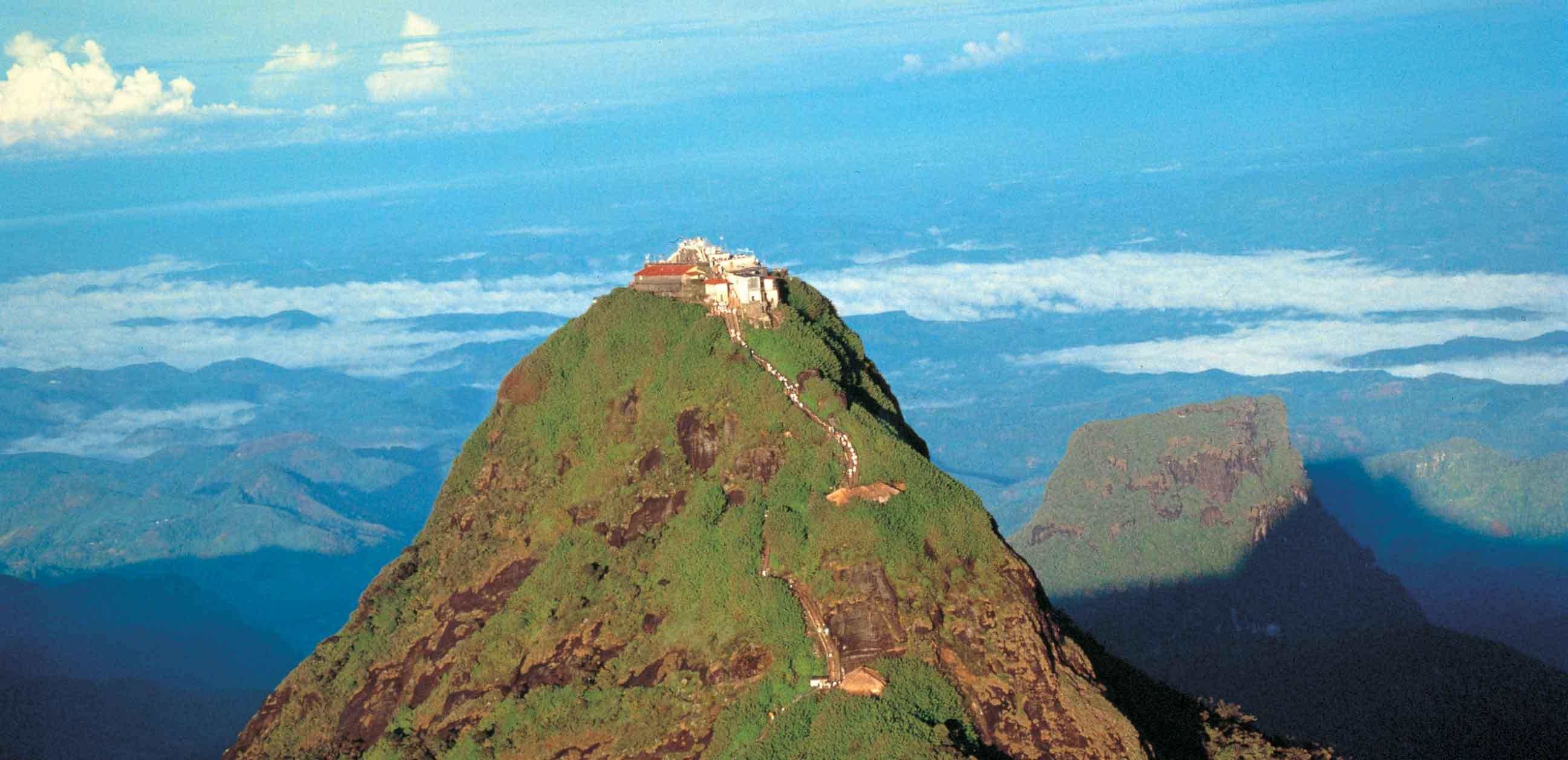 سفر به قله حضرت آدم در سریلانکا