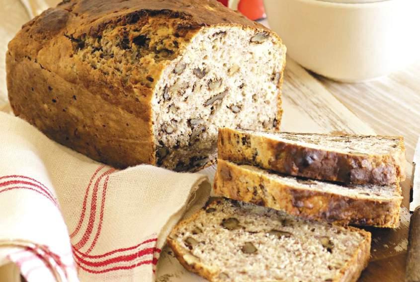طرز تهیه نان گردو مخصوص دیابتیها
