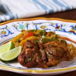 آموزش ویدیویی طرز تهیه مرغ فاهیتا همراه با برنج
