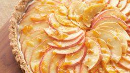 آموزش ویدیویی طرز تهیه تارت سیب بدون شکر