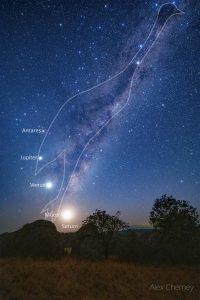 تصویر روز ناسا: شترمرغ استرالیایی در آسمان
