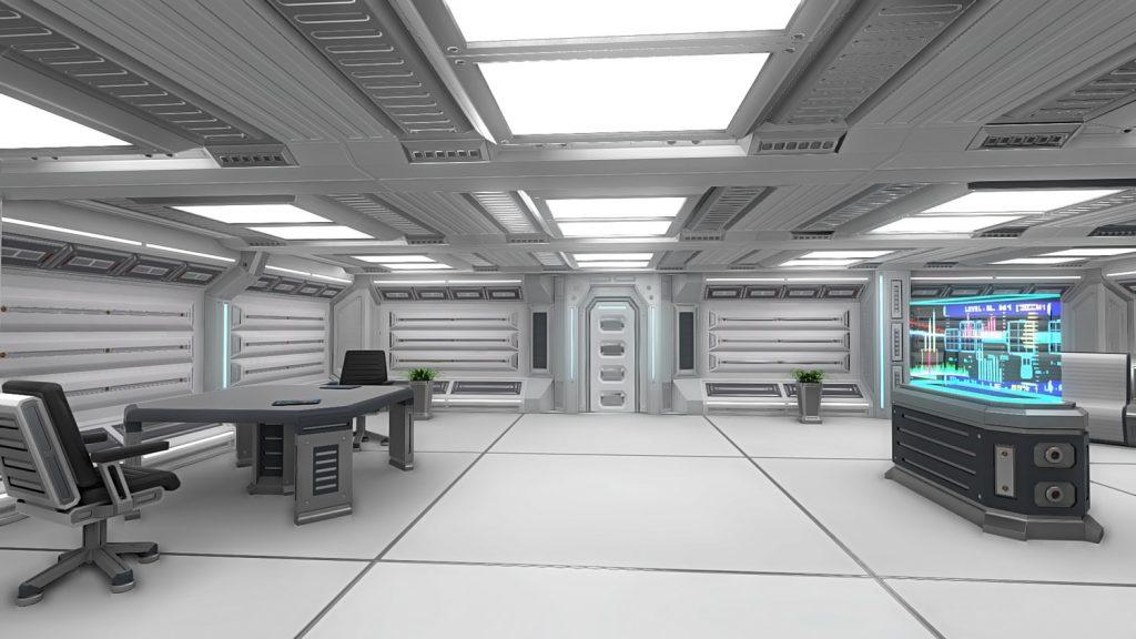 طراحی داخلی فضایی