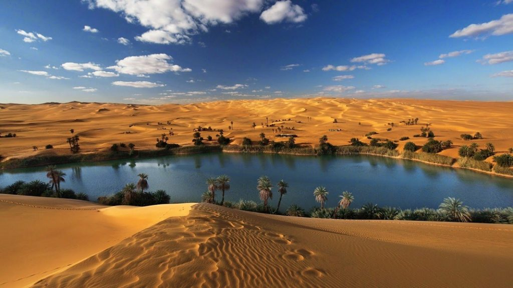 تغییر اقلیم صحرای آفریقا و ایجاد دریاچه