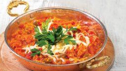 آموزش و طرز تهیه صبحانه ترکی مِنِمِن تخممرغی