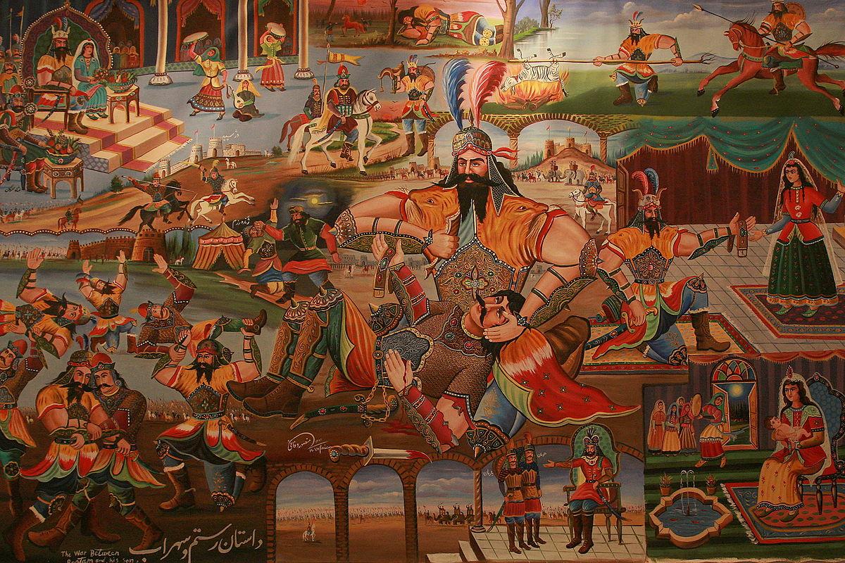 نقاشی قهوهخانهای، هنری ناب و ایرانی
