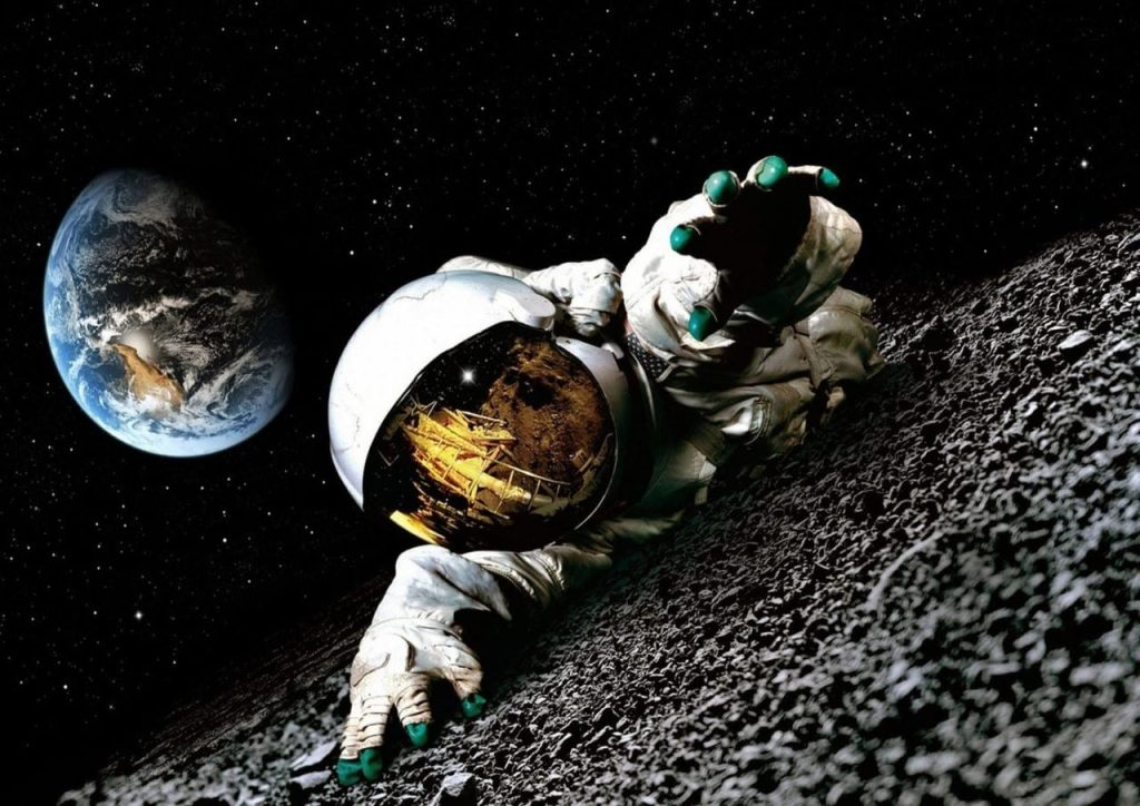 سقوط و مرگ در فضا