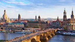 سفر به درسدن آلمان از نمای بالا + ویدیو
