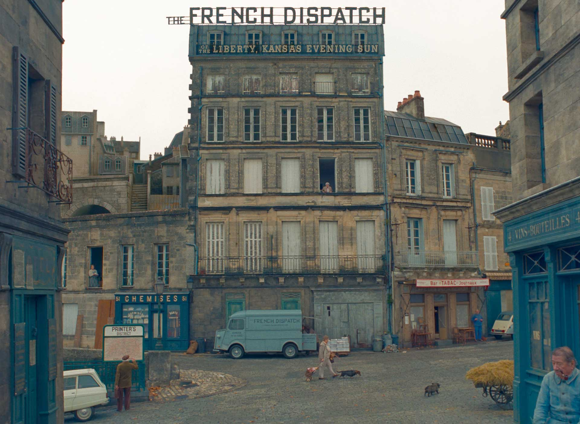 معرفی فیلم سینمایی The French Dispatch