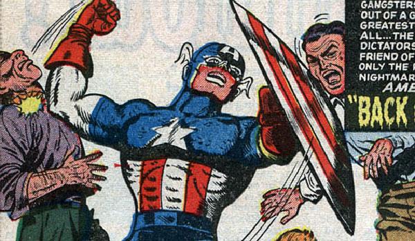 کاپیتان آمریکای دهه 50 میلادی