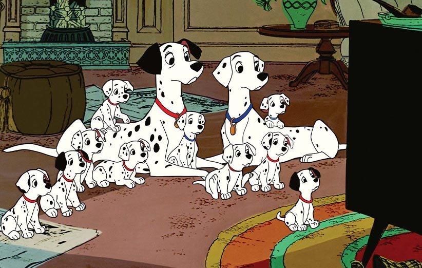 صد و یک سگ خالدار ۱۹۶۱ حیوانات خانگی