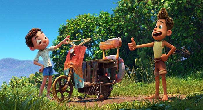 انیمیشن لوکا (Luca)