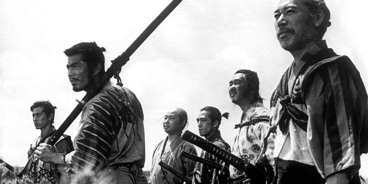 ۱- Seven Samurai