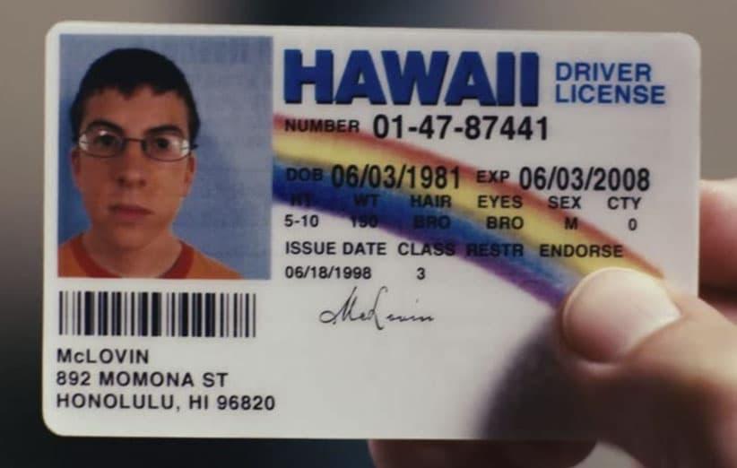 کارت شناسایی مک لووین