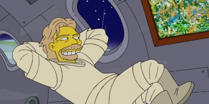 کارتون The Simpsons سفر فضایی ریچارد برانسون را نیز پیشگویی کرده بود؟!