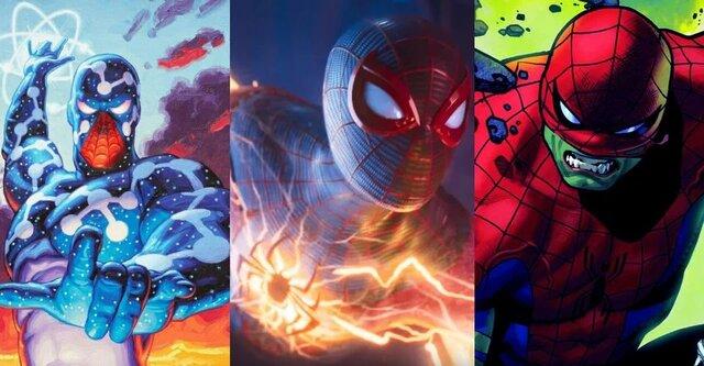 رتبه بندی 10 نسخه نیرومند از مرد عنکبوتی