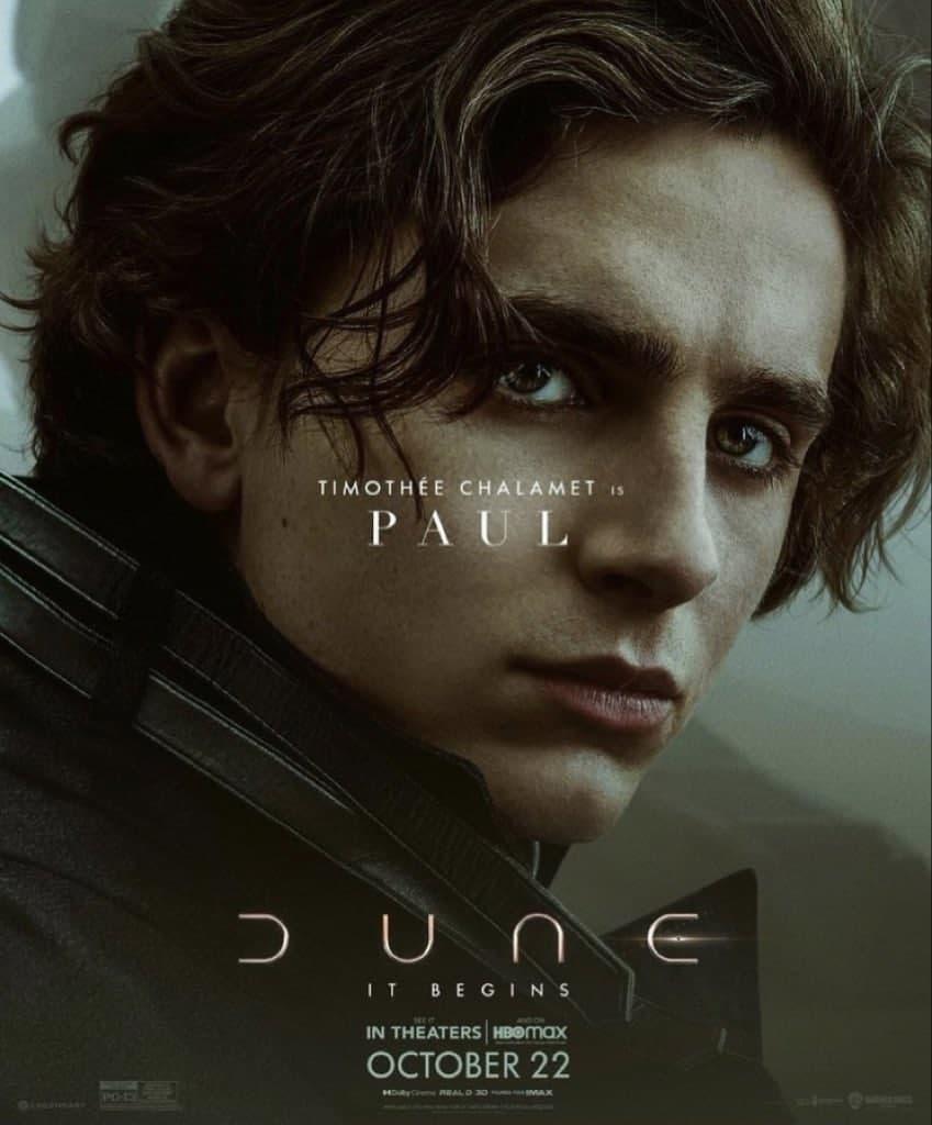 پوسترهای فیلم تل ماسه (Dune) منتشر شد